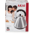 Akai A10002 Pyramid Kettle - Stainless Steel - 2L: Image 6