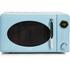 Akai A24006BL Digital Microwave - Blue - 700W: Image 1