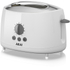 Akai A20001 2 Slice Cool Touch Toaster - White: Image 1