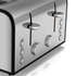 Akai A20002 4 Slice Toaster - Stainless Steel: Image 2