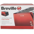 Breville VTT465 4 Slice Toaster - Red: Image 4