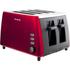 Breville VTT465 4 Slice Toaster - Red: Image 1
