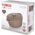 Tower IDT90002 Cast Iron Round Casserole Dish - Latte - 26cm: Image 5