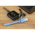 Kit USB to Micro USB Keyring Data & Charge Cable - Blue: Image 2