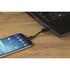 Kit USB to Micro USB Keyring Data & Charge Cable - Black: Image 4