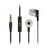 KitSound Entry Mini Earphones With In-Line Mic - Black: Image 1