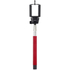 Kitvision Basic Bluetooth Selfie Stick With Phone Holder - Red: Image 1