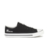 Crosshatch Men's New Halfpipe Canvas Trainers - Black: Image 1