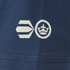 Crosshatch Men's Atlantic Back Print T-Shirt - Insigia Blue: Image 3