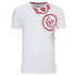 Crosshatch Men's Pacific Print T-Shirt - White: Image 1