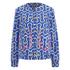 KENZO Women's Printed Bomber Jacket - Blue: Image 1