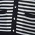 Sonia by Sonia Rykiel Women's Bicolor Striped Cardigan - Navy/White: Image 5