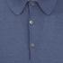 John Smedley Men's Adrian Sea Island Cotton Polo Shirt - Baltic Blue: Image 3