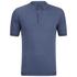 John Smedley Men's Adrian Sea Island Cotton Polo Shirt - Baltic Blue: Image 1