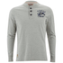 Tokyo Laundry Men's Arturo Button Long Sleeve Top - Light Grey Marl: Image 1