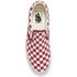 Vans Men's Classic Slip-on Checkerboard Trainers - Rhubarb/White: Image 3