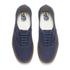 Vans Men's Authentic Washed Canvas Trainers - Dress Blues/Gum: Image 2
