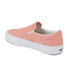 Vans Women's Classic Slip-on Chambray Trainers - Coral/True White: Image 5