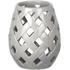 Parlane Beatrix Ceramic Candle Holder - Grey: Image 1