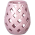 Parlane Beatrix Ceramic Candle Holder - Pink: Image 1