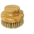 Hydrea London Bamboo Round Dry Body Brush: Image 1