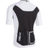 Nalini Xrace Logo Ti Short Sleeve Jersey - White/Black: Image 2