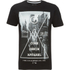 Dissident Men's Crosser Graphic Print T-Shirt - Black: Image 1
