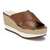 Lauren Ralph Lauren Women's Flatform Sandals - Polo Tan: Image 2