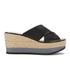 Lauren Ralph Lauren Women's Flatform Sandals - Black: Image 1