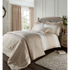 Catherine Lansfield Lille Bedding Set - Gold: Image 1