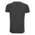 Brave Soul Men's Exit Zip Pocket Fleck T-Shirt - Charcoal: Image 2