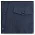 Brave Soul Men's Charlie Pocket Long Sleeve Shirt - Navy: Image 3