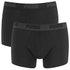Puma Men's 2 Pack Basic Trunks - Black: Image 1