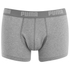 Puma Men's 2 Pack Basic Trunks - White/Grey: Image 2
