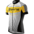 Skins Cycle Men's Promo Short Sleeve Jersey - Black/Yellow/White: Image 1