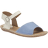 Clarks Women's Tustin Sinitta Leather Double Strap Sandals - Blue Combi: Image 2
