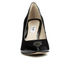 Clarks Women's Dinah Keer Leather Court Shoes - Black Patent: Image 5