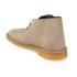 Clarks Originals Men's Desert Boots - Wolf Suede: Image 6