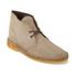 Clarks Originals Men's Desert Boots - Wolf Suede: Image 4