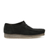 Clarks Originals Men's Wallabee Shoes - Black Suede: Image 1