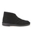 Clarks Originals Men's Desert Boots - Black Suede: Image 1
