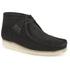 Clarks Originals Men's Wallabee Boots - Black Suede: Image 2