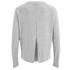 VILA Women's Central Long Sleeve Top - Light Grey Melange: Image 2