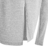 VILA Women's Central Long Sleeve Top - Light Grey Melange: Image 3