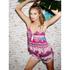 MINKPINK Women's Goodnight Darling Ruffle Edge Shorts - Multi: Image 2