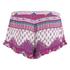 MINKPINK Women's Goodnight Darling Ruffle Edge Shorts - Multi: Image 3