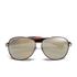 Calvin Klein Jeans Women's Aviator Sunglasses - Gold: Image 1