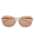Calvin Klein Jeans Women's Retro Sunglasses - Matte Rose: Image 1