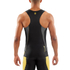 Skins DNAmic Men's Sleeveless Top - Black/Citron: Image 4