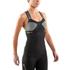 Skins DNAmic Women's Tank Top - Black/Limoncello: Image 3
